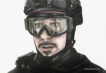 Special Ops Tony Stark - Back to 2012 by TheCeruleanFeline