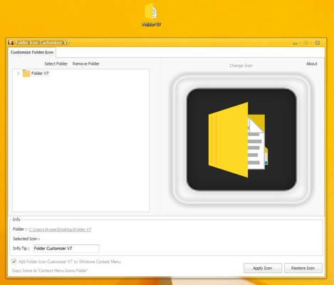 Folder Icon Customizer V7