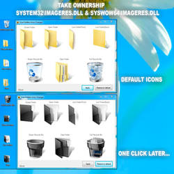 Live Folders Icon Changer 2.0 W7 and W8.1 x64 ONLY