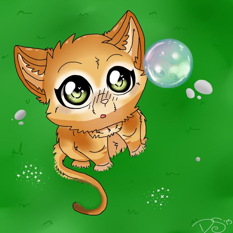 bubbles by DogloverSasha