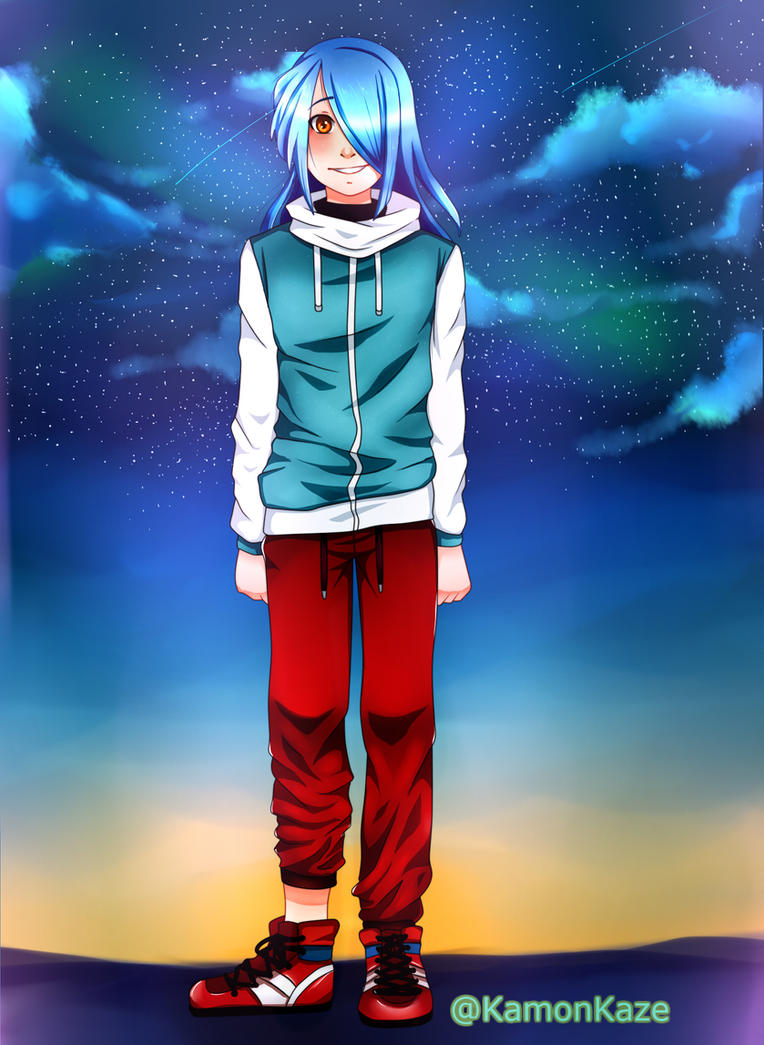 Kazemaru Ichirouta [Inazuma Eleven] by KamonKaze