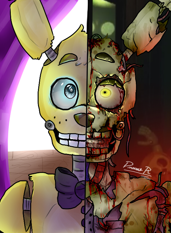 BonBon's Links __springtrap___by_dinosaurrandomness-d8njcg8