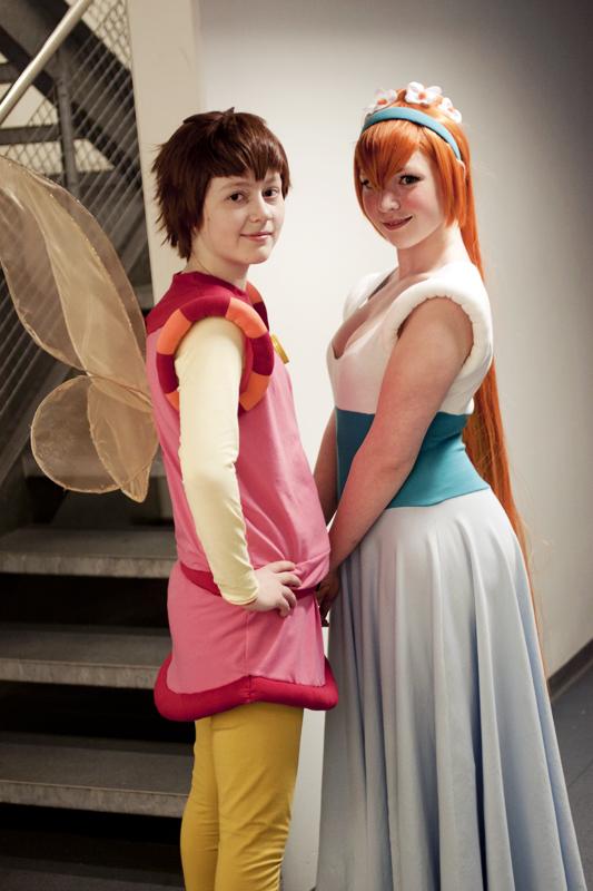 Thumbelina and Cornelius by Enilokin