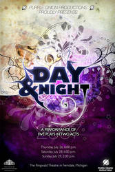 Day and Night by antechamber85
