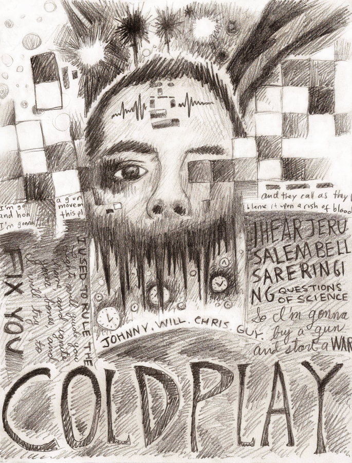 Coldplay by Penned-Paper