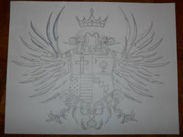 family crest tattoo by bigjbway23