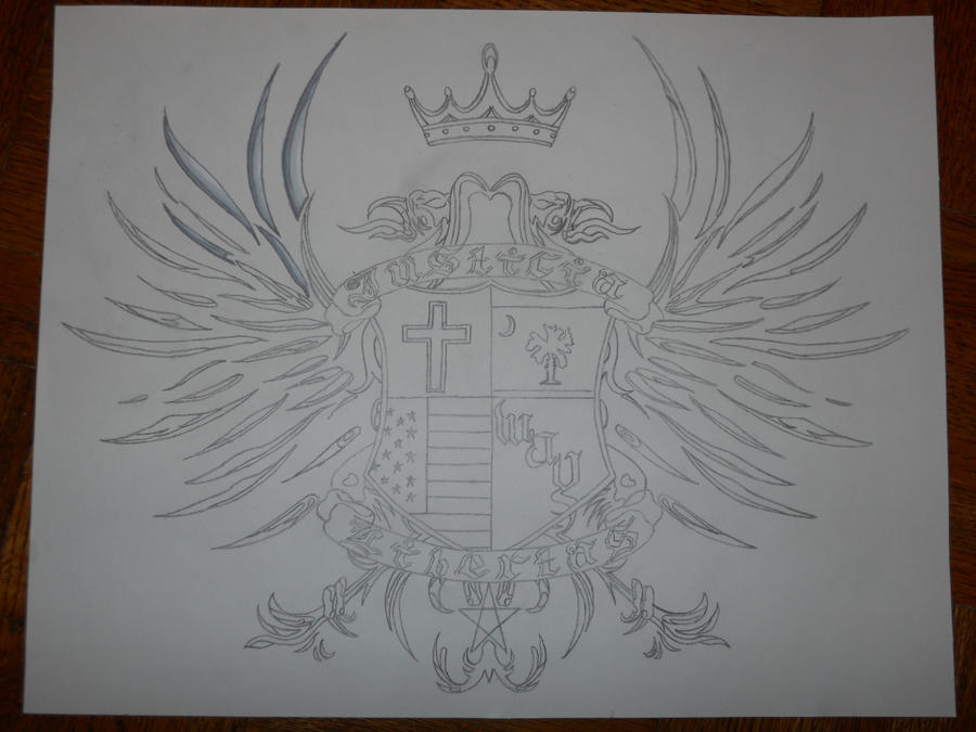 family crest tattoo by ~bigjbway23 on deviantART