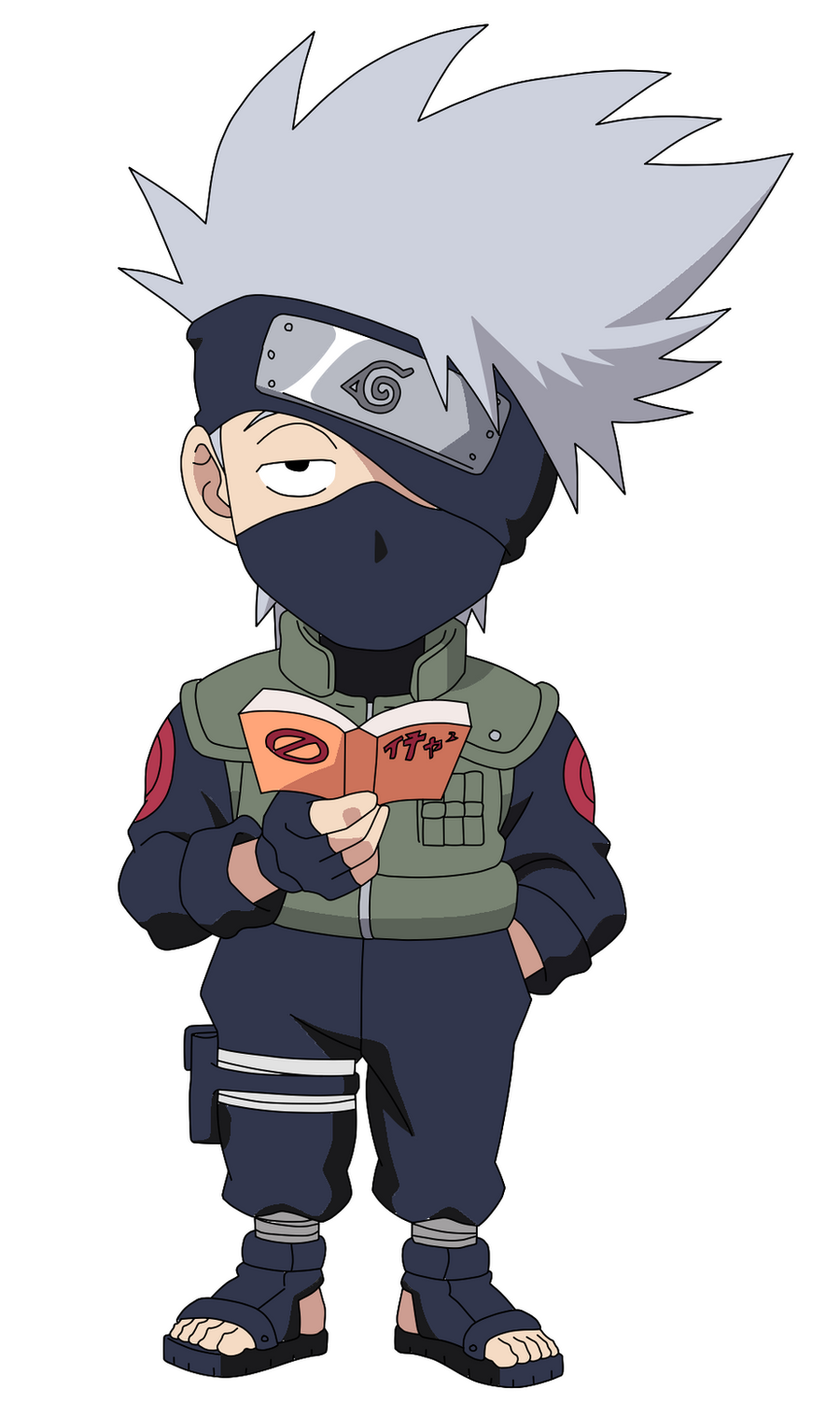 Kakashi Chibi by Benzaman on DeviantArt