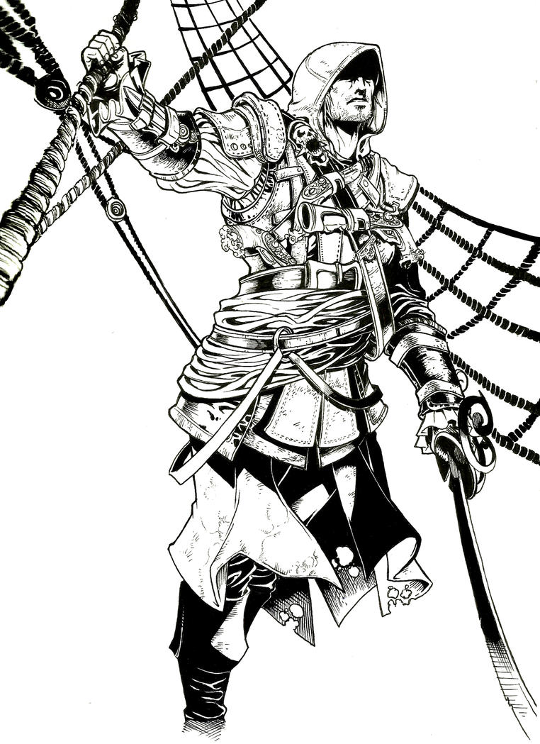 Assassins Creed Black Flag By Shonemitsucomics On Deviantart