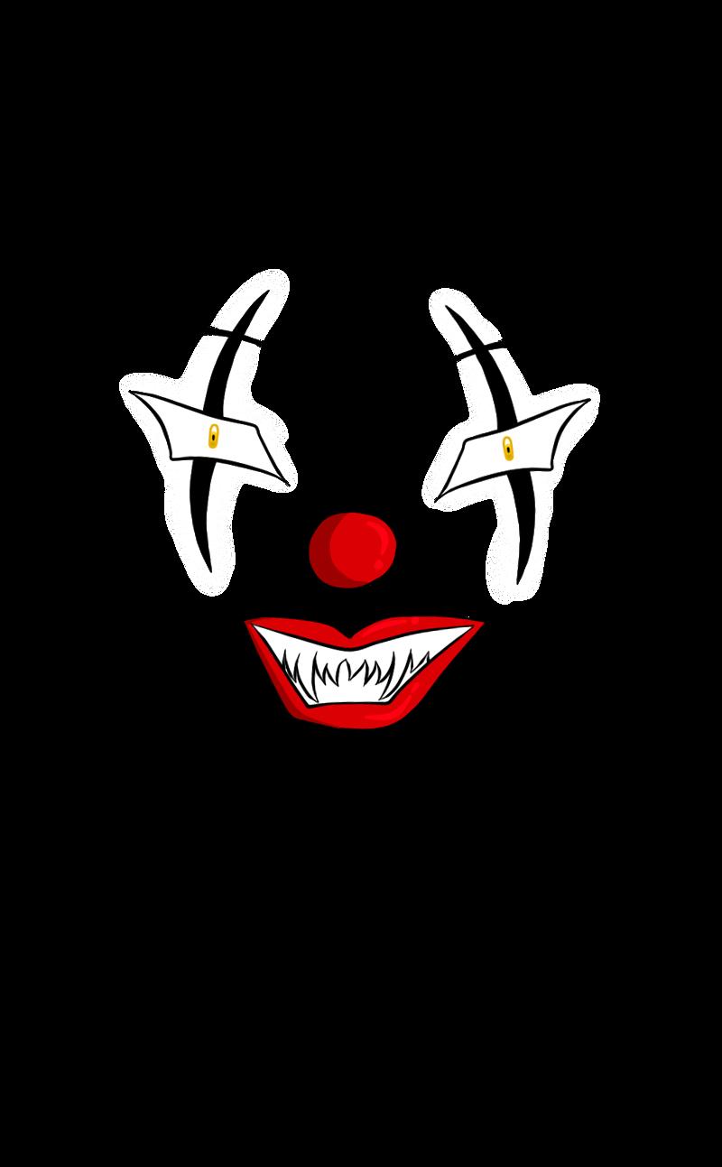 Evil Clown Face by Liwalain on DeviantArt