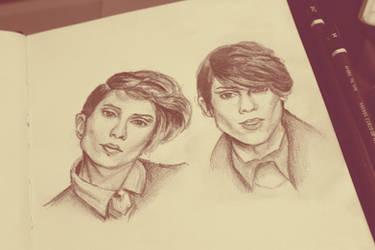 Tegan and Sara by city-dreams