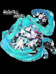 Miku Hatsune -Render-