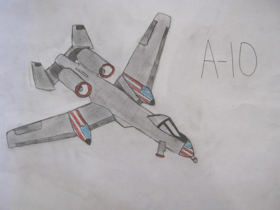 A-10 Warthog by severussnapesgirl97