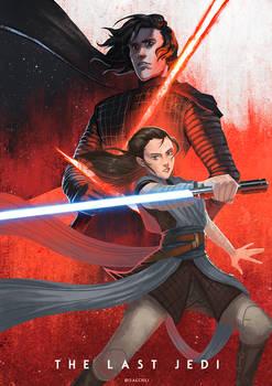 The Last Jedi: Kylo Ren and Rey