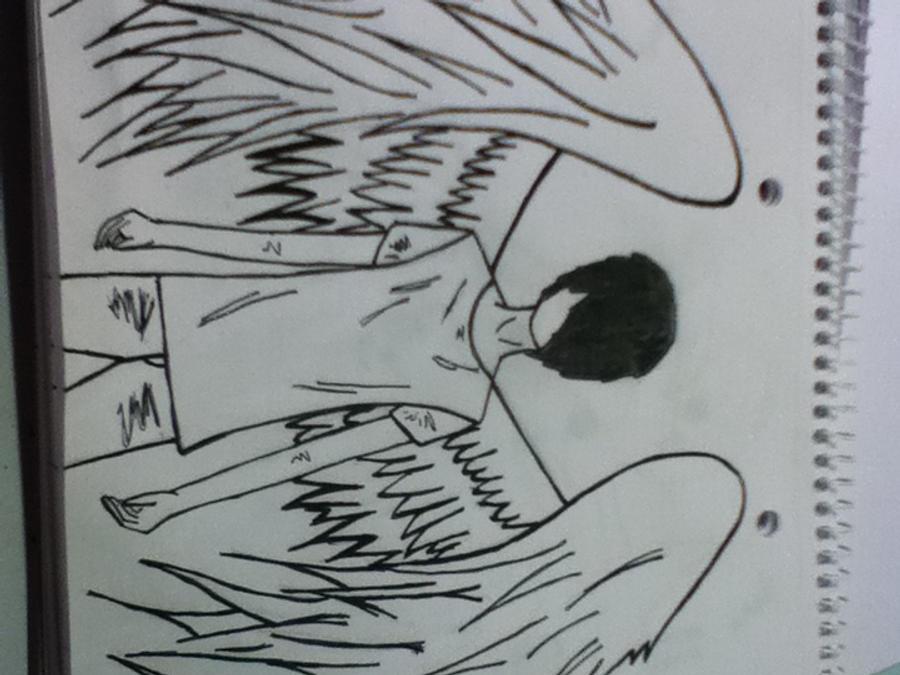 Emo angel drawings hitman game emo angel by kaga123 altavistaventures Image collections