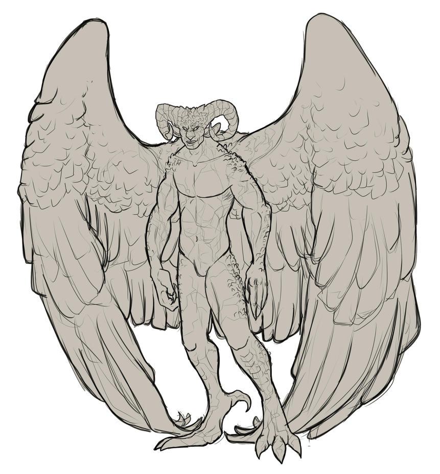 Gargoyle Chris by Takky-san