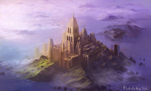 city in the sea by vennom07