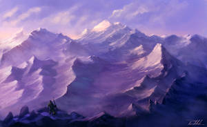 The snow desert by vennom07