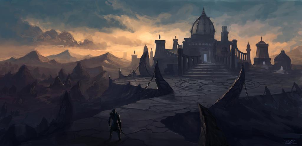 Temple Assassins. by vennom07
