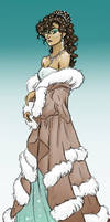 mini piece - Kveta as Lady Selkie