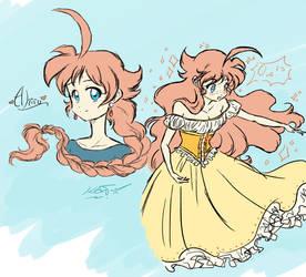 Precious Duckling Princess by Blue-Starr