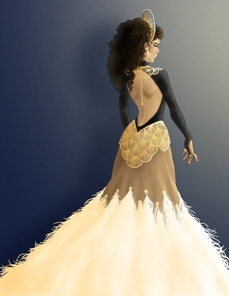 SH - Sybal Gala: The Gilded Sphinx by Blue-Starr on DeviantArt