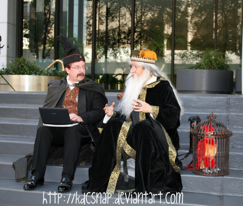 Hogwarts Teachers Chillin' by KDCSnap