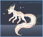 [Closed] 4 Blue Flower Deer