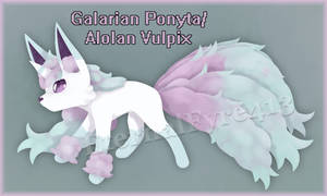 [Closed] Sparkly Cotton Candy fox