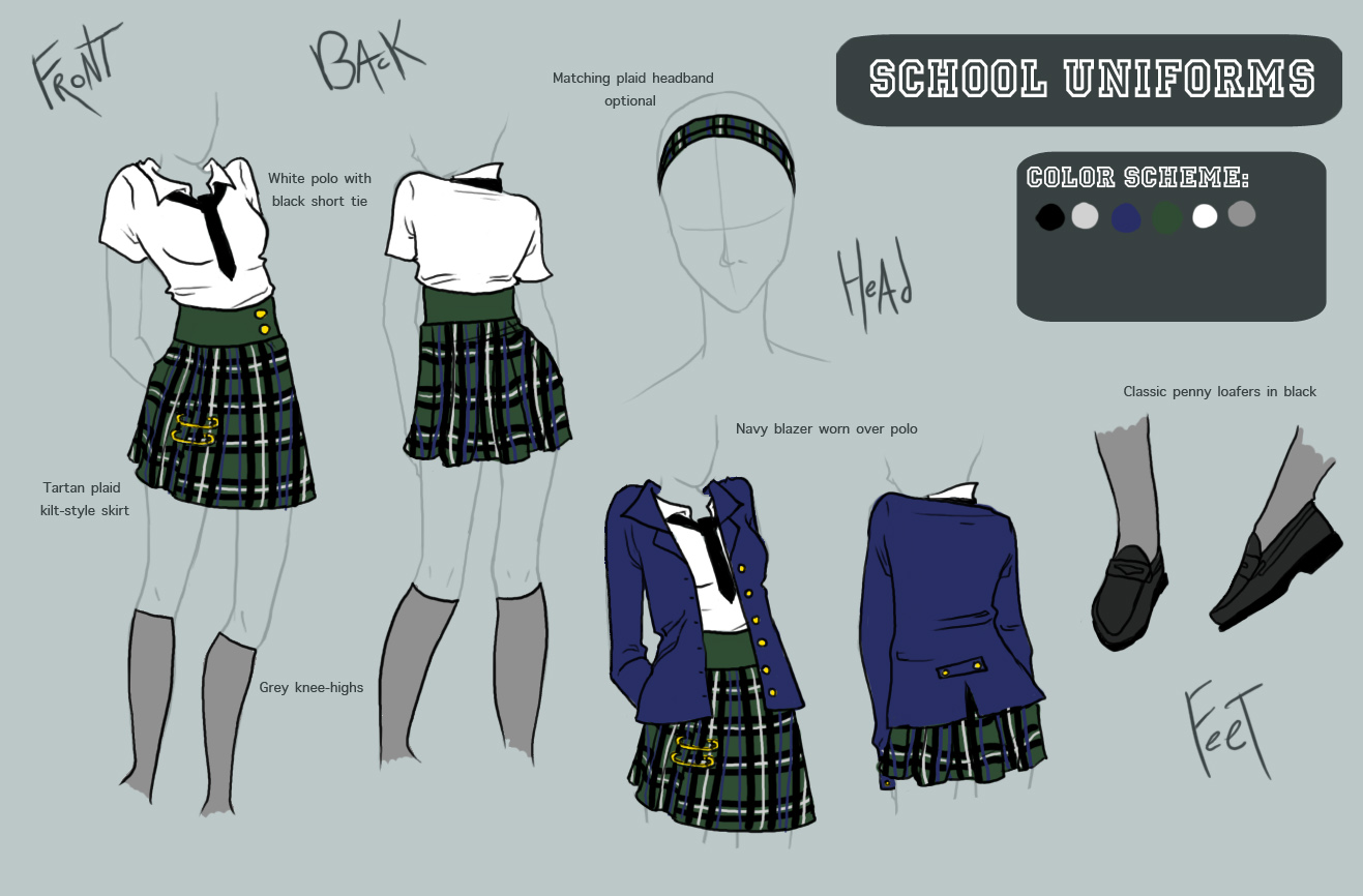 .:Uniforms Request:. by Camaryn