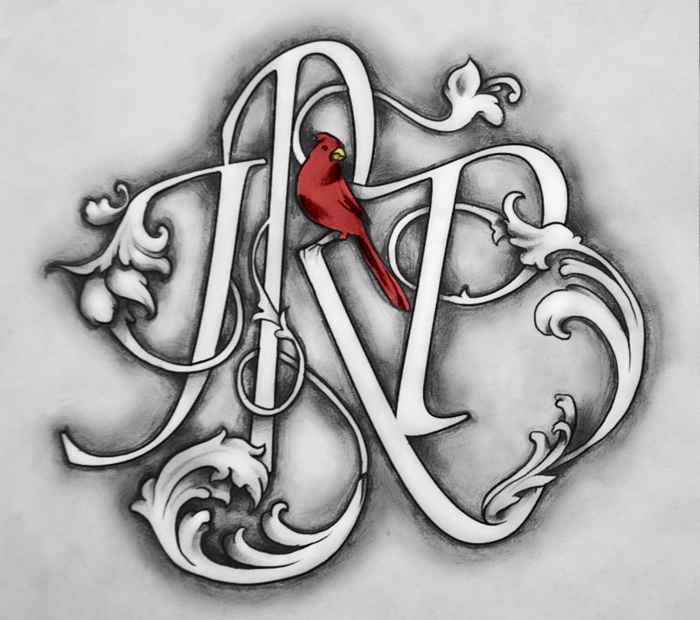 Initials Tattoo Commission By Camaryn On DeviantArt