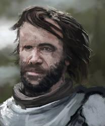 Sandor Clegane by sjruk