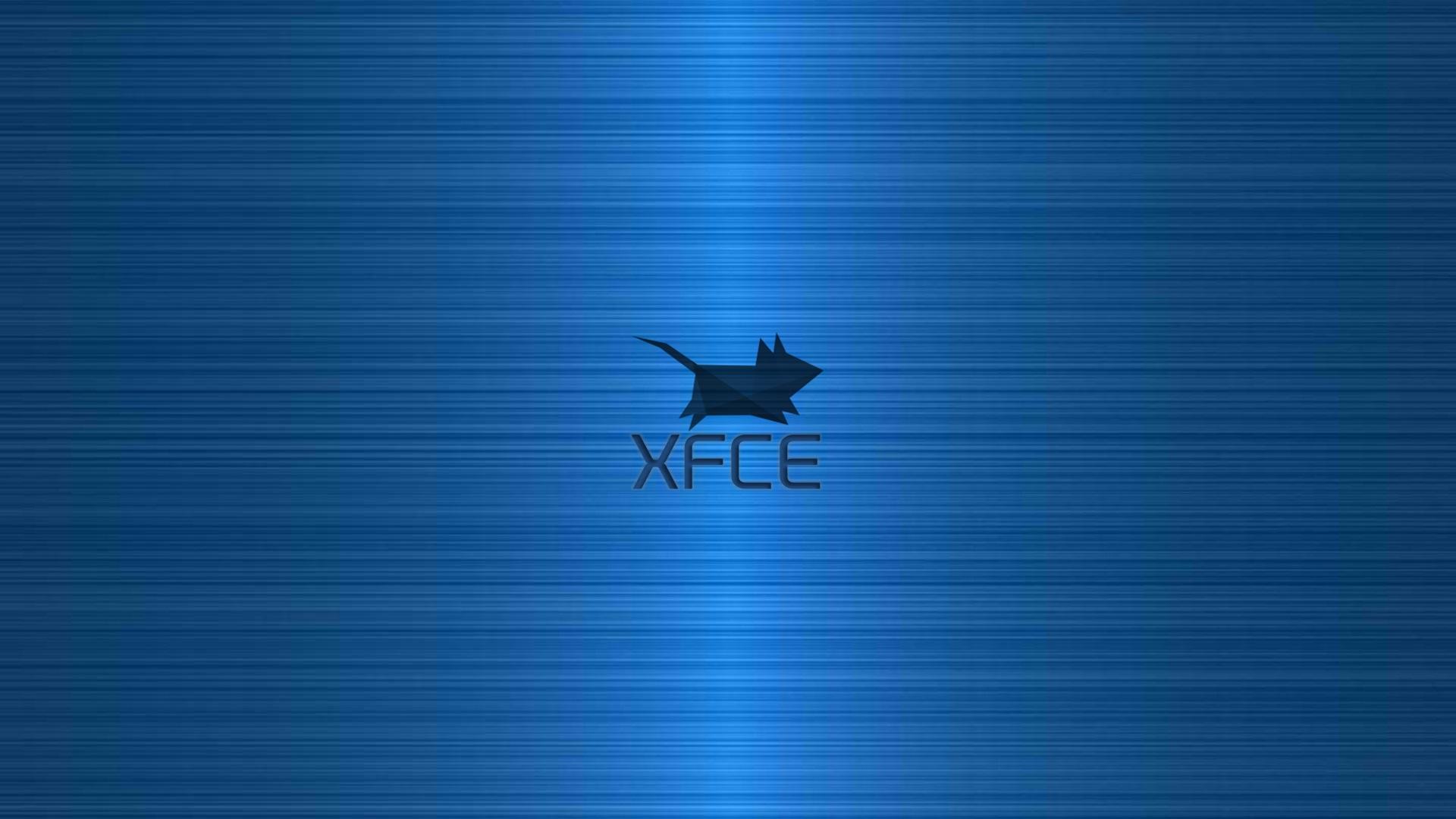 XFCE Blue Brushed By Despotveliki
