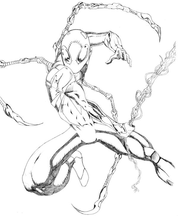 Gallery For Gt Iron Spider Drawings