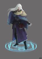 Eira, Elf Wizard by monicamarie1019