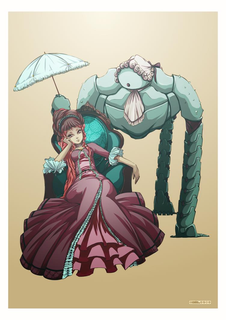 Aeon - GUMITIEN (Angela Vianello) Contest by RafusChan