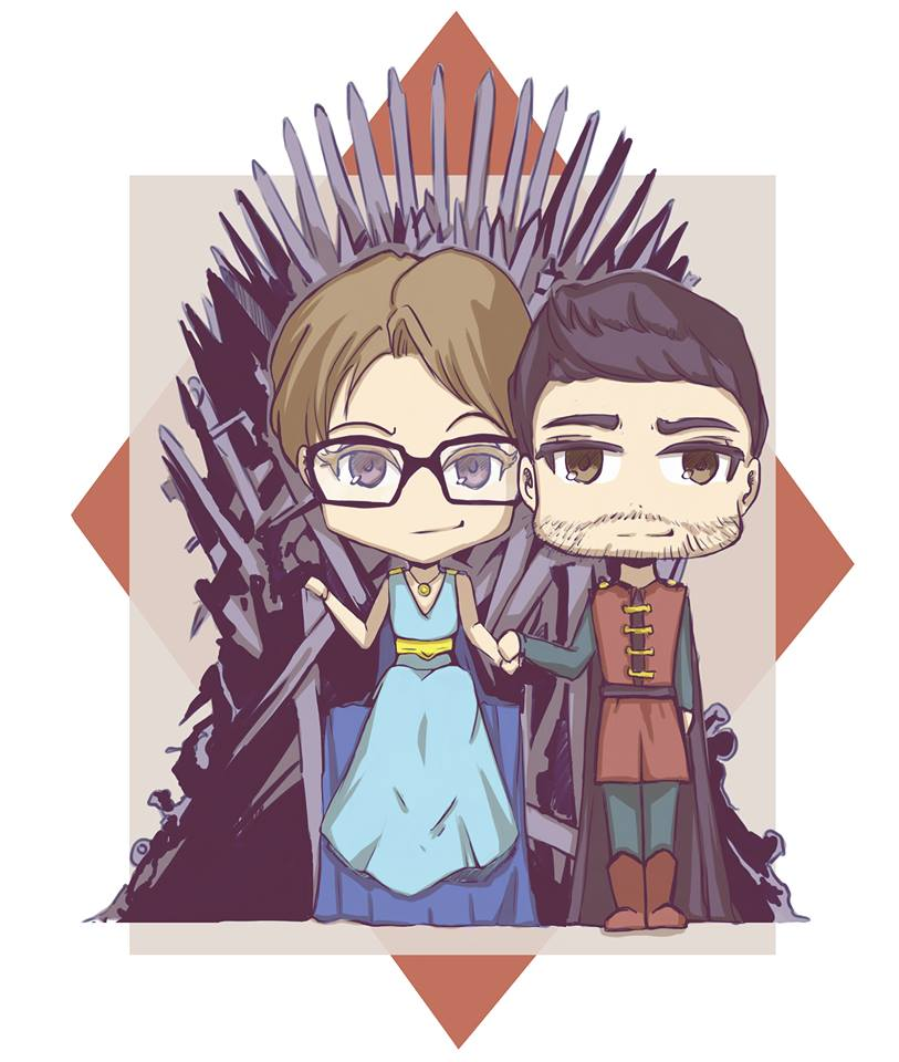 Emanuela and Riccardo's Wedding: Games of Thrones by RafusChan