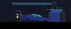 Spaceship by kirokaze
