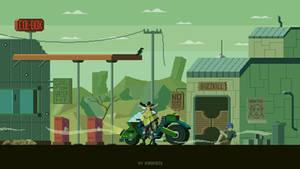 Gunner - Post apocalyptic theme
