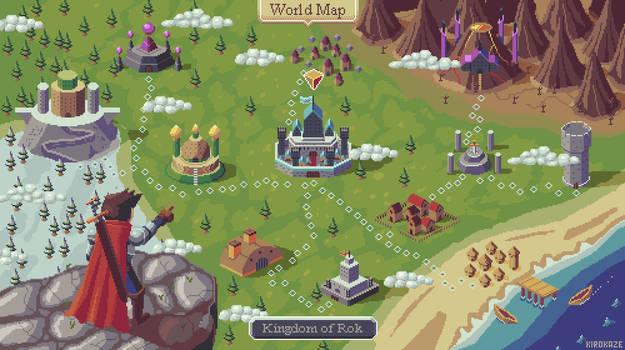 RPG map mockup - Choose location