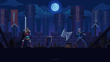 Duel at full moon