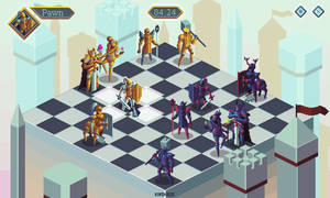 Chess pieces - mockup