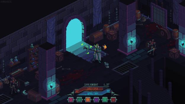 Dungeon mockup
