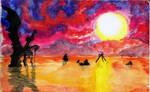The Final Seashore by pierrot-lunaire