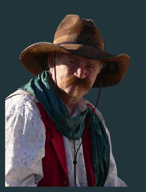 Cowboy by kenraney