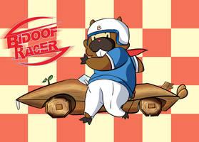 Bidoof Racer by mrstupes