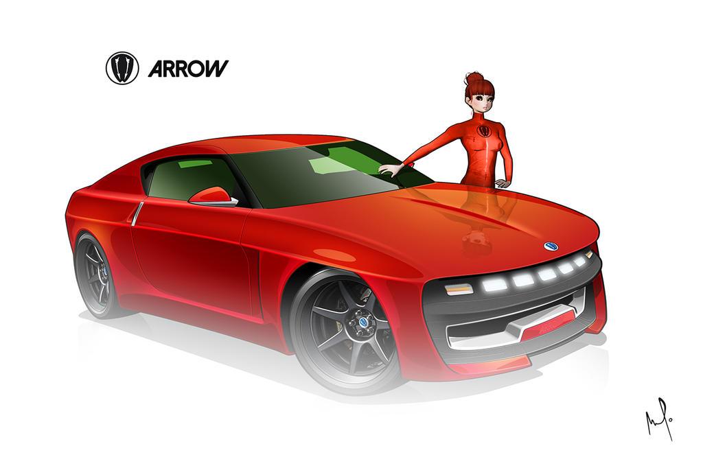 ARP Arrow by AmaurydeR