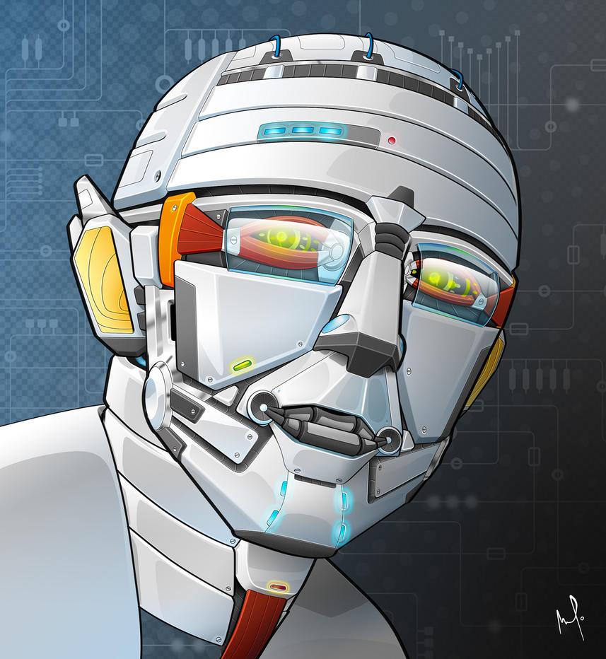 Auto Portrait Robot by AmaurydeR