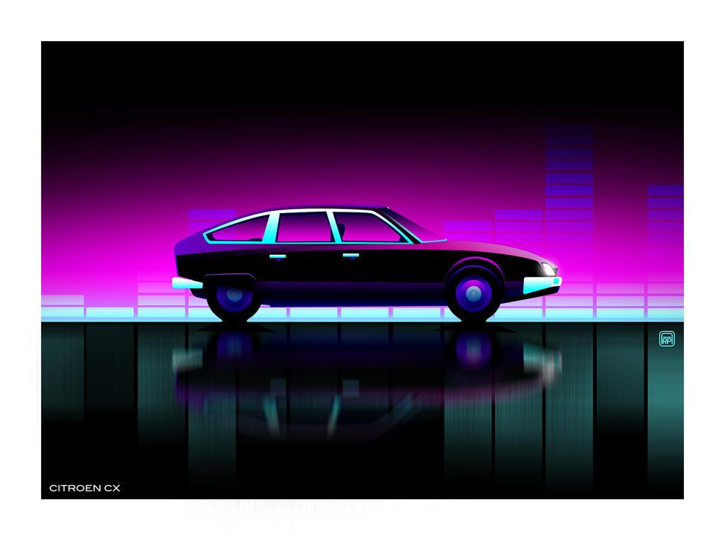 Citroen CX by AmaurydeR