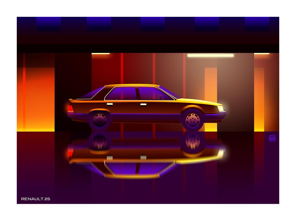 Renault 25 by AmaurydeR